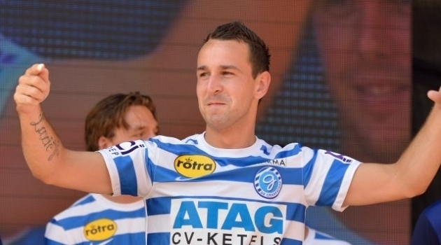 De Graafschap wint door late penalty (0-1)