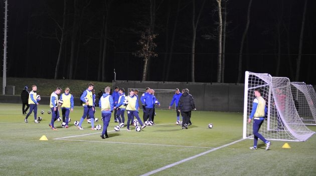 Trainingskamp Zeist: dag 2 in beeld