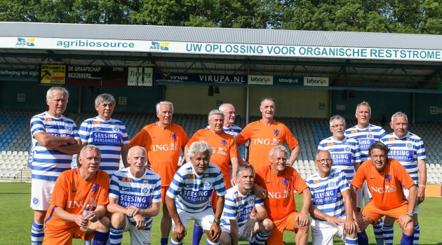 OldStars Walking Football-meeting op Stadion De Vijverberg